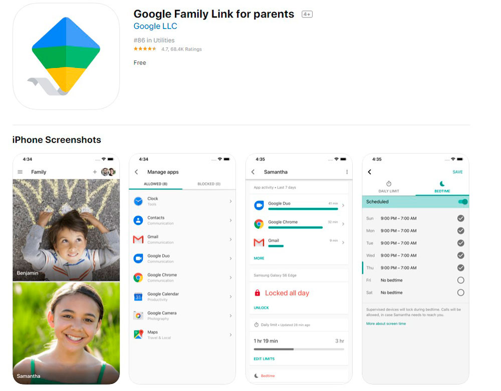 Google Family Link help your family
