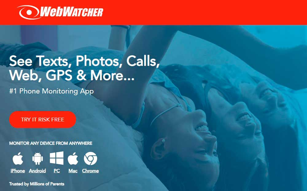 Webwatcher helps parents to monitor and control the apps and websites used by their kids